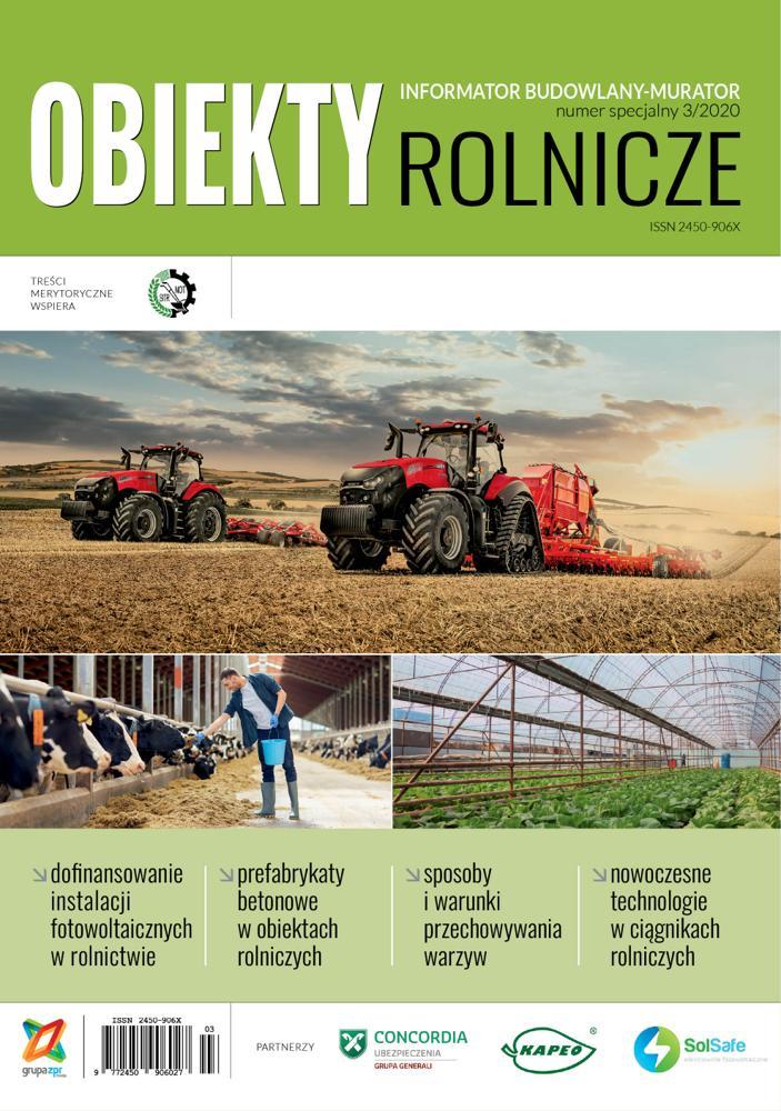 Obiekty Rolnicze 2020